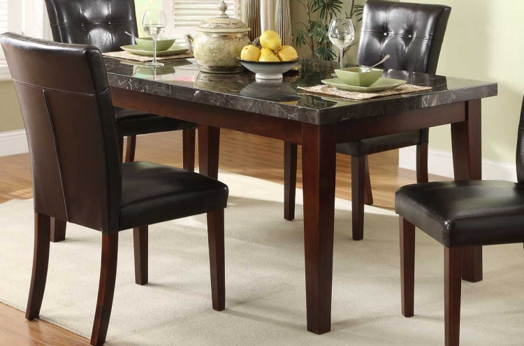 Decatur Dining Table - Rich Cherry