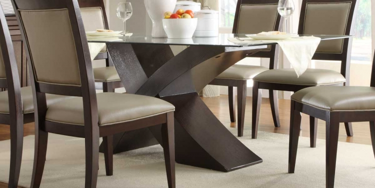 Bering Dining Table - Dark Espresso
