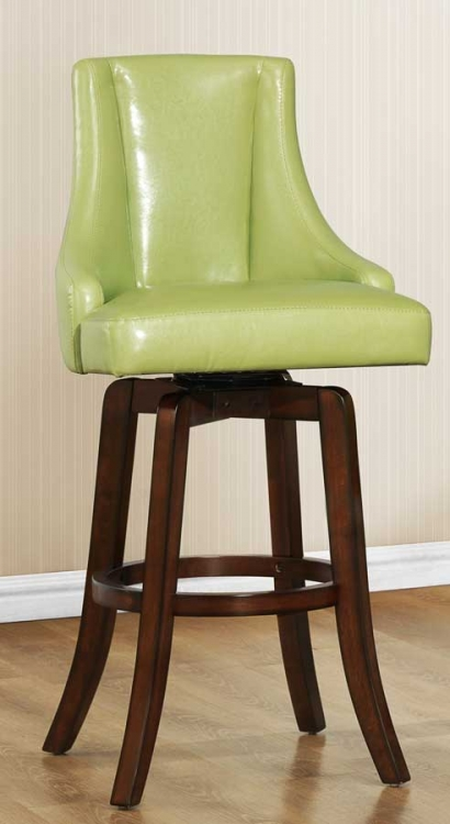 Annabelle Swivel Pub Height Chair - Green