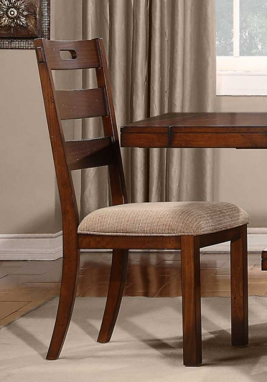 Clayton Side Chair - Dark Oak