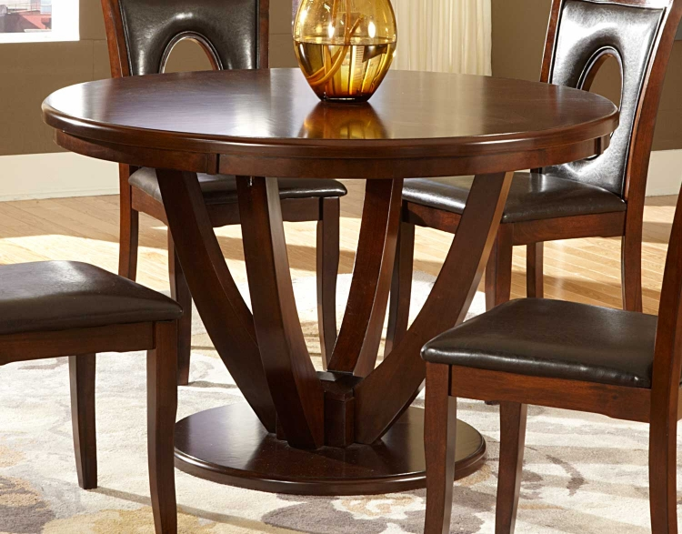 VanBure Round Dining Table - Cherry