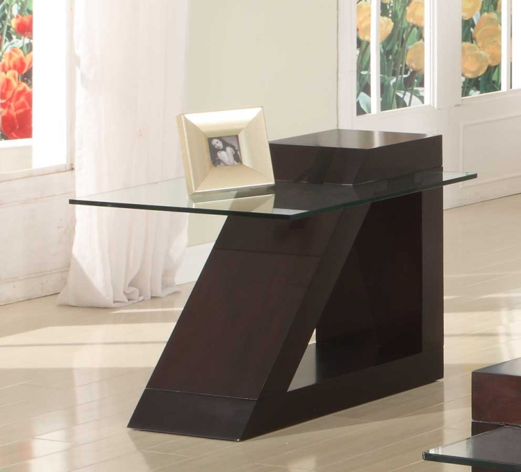 Jensen End Table - Espresso