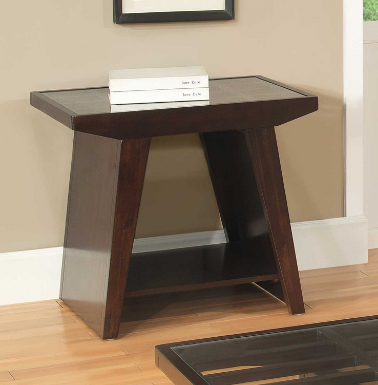 Cullum End Table - Dark Espresso
