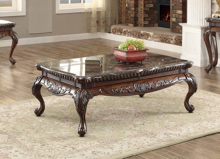 Mariacarla Cocktail/Coffee Table - Dark Cherry