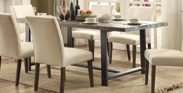 Anacortes Dining Table - Burnished Natural