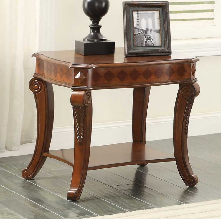 Rutherford End Table - Classic Cherry