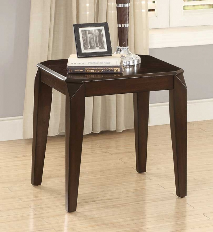 Sikeston End Table - Warm Cherry