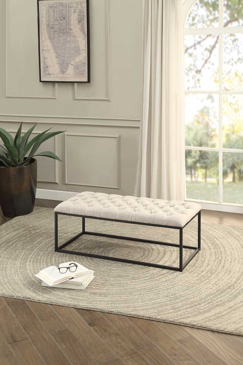 Destry Bench - Beige