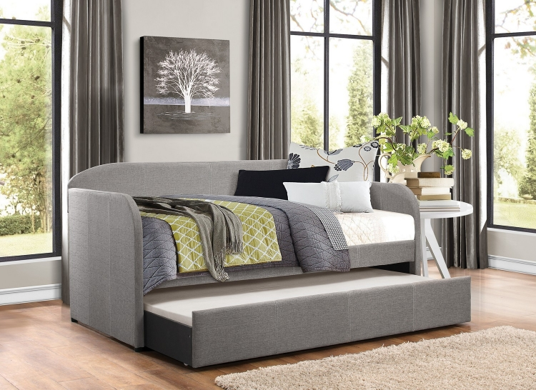 Roland Daybed with Trundle - Grey