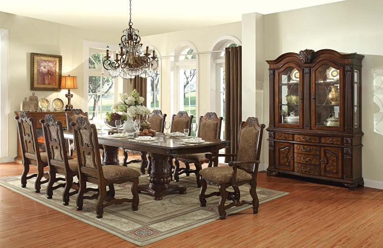 Thurmont Double Pedestal Dining Set