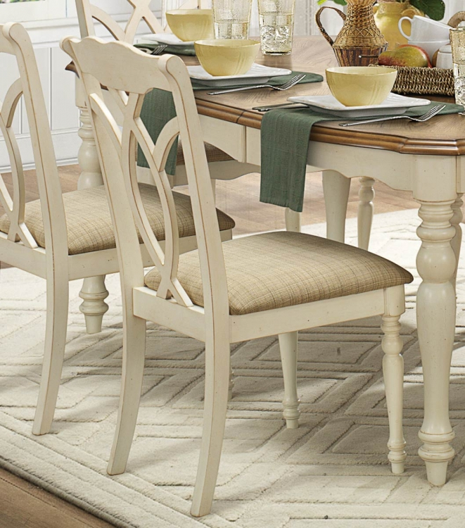 Azalea Side Chair - Antique White