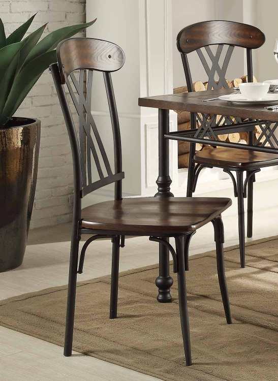 Loyalton Side Chair - Wood/Metal