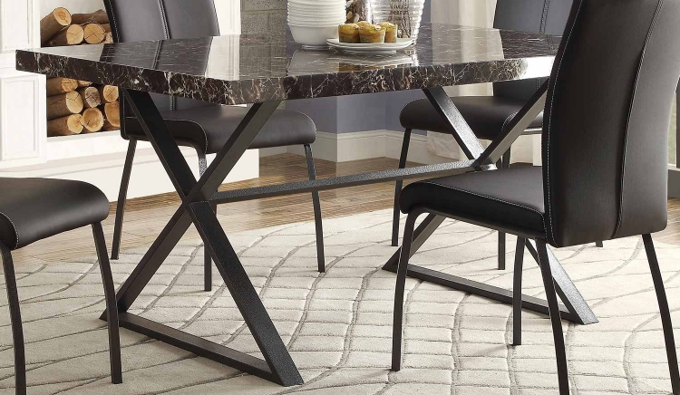 Rancho Portola Dining Table - Metal