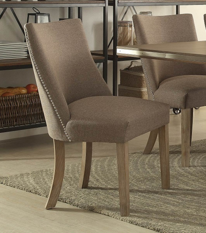Beaugrand Side Chair - Brown