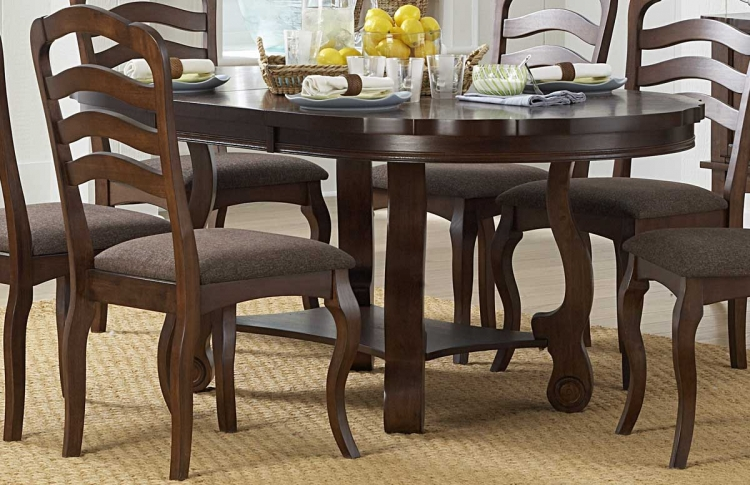 Arlington Oval Dining Table with Butterfly Leaf