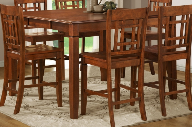 Gresham Counter Height Table in Nyota Pattern