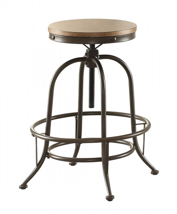 Angstrom Counter Height Stool - Adjustable Height