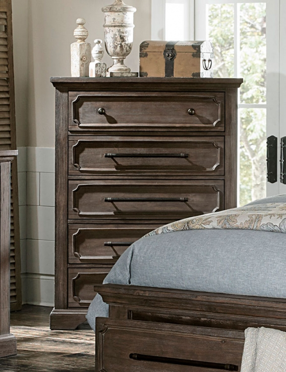 Toulon Chest - Rustic Acacia