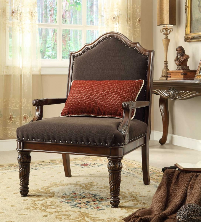 Catalina II Chair - Chocolate - Chenille