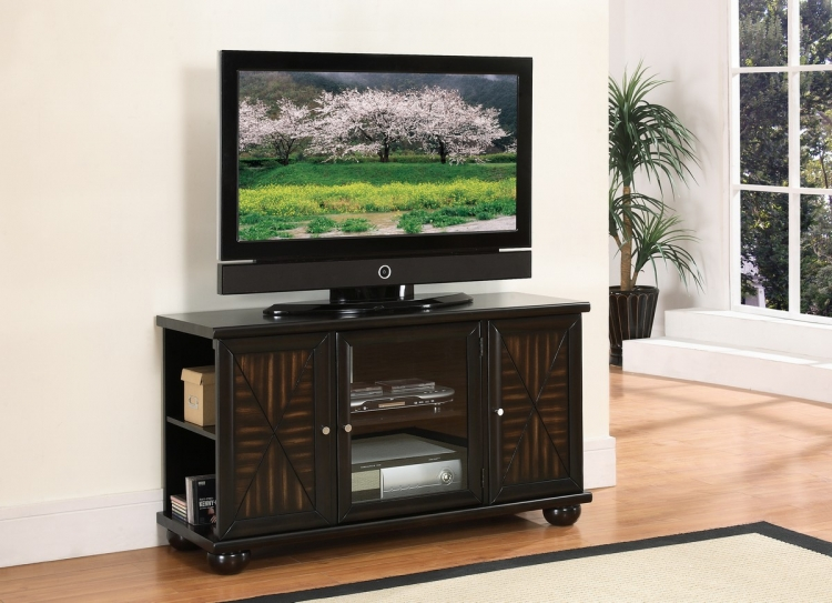 Rufus 48in TV Stand in Walnut Finish
