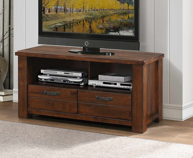Santos 47-inch TV Stand - Natural Brown