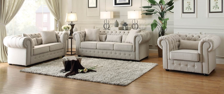 Savonburg Sofa Set - Neutral