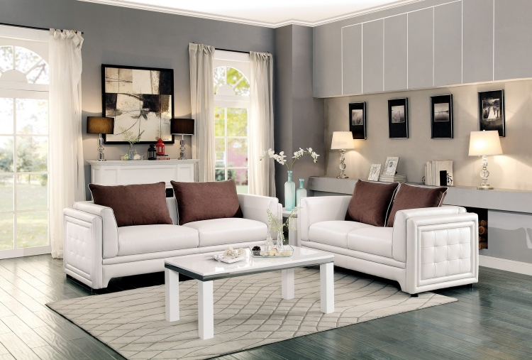 Homelegance Azure Collection | Azure Living Room Sets | Azure ...
