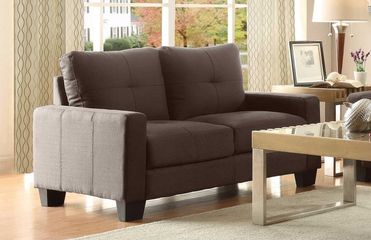Ramsey Love Seat - Grey