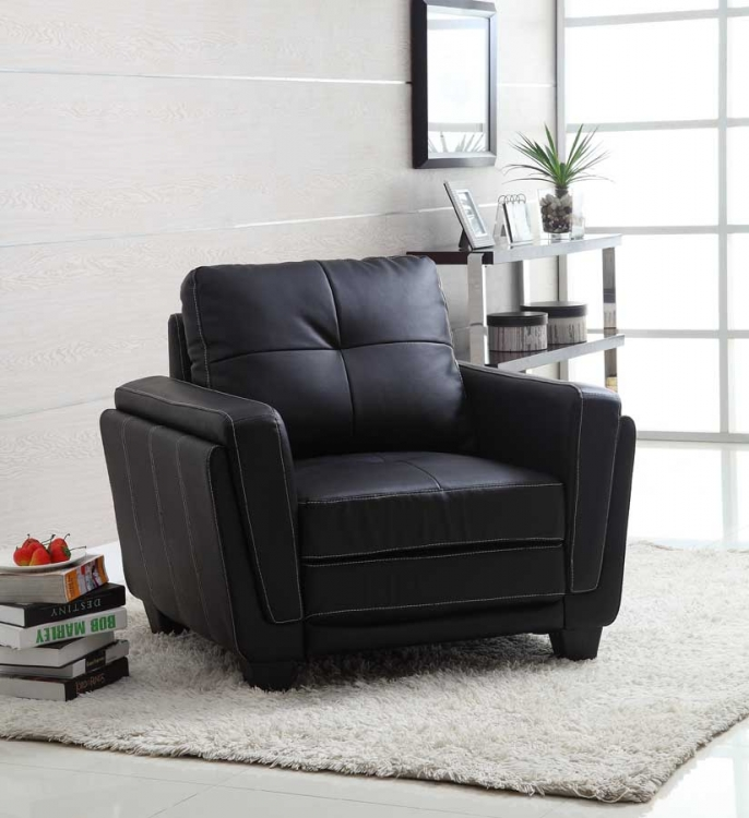 Dwyer Chair - Black Bi-Cast