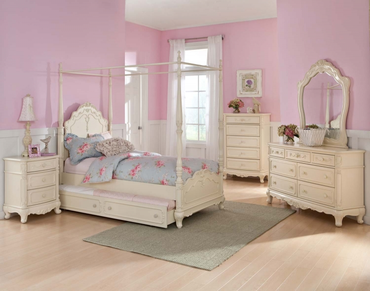 Cinderella Poster Bedroom Set   Ecru. Homelegance Cinderella Bedroom Collection   Ecru B1386