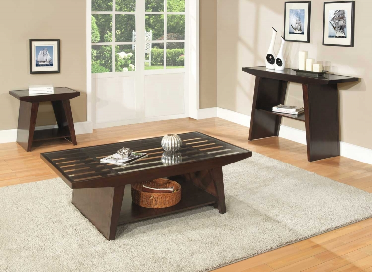 Cullum Occasional Table Set - Dark Espresso