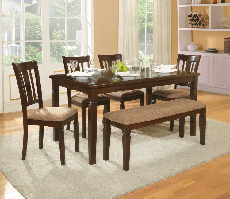 Homelegance Devlin Dining Table - Espresso 2538-60 ...