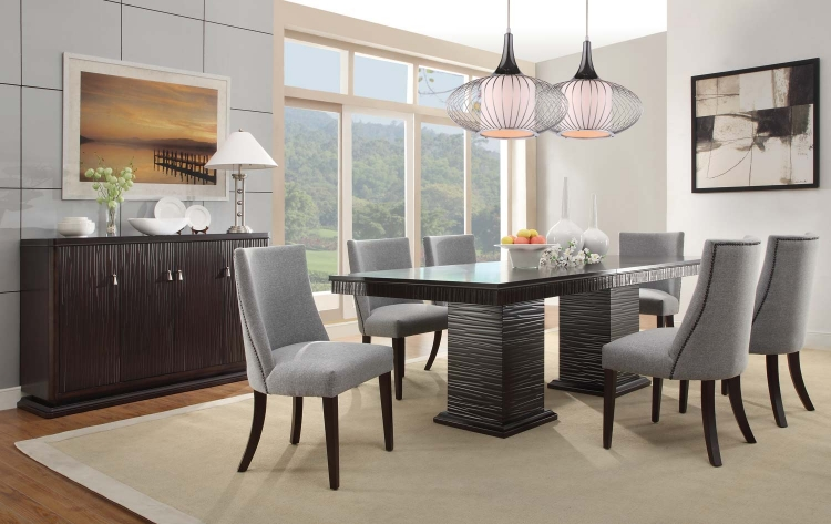 Chicago Dining Set - Espresso