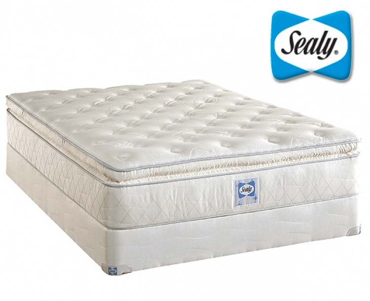 Plush Euro Pillow Top Innerspring Mattress