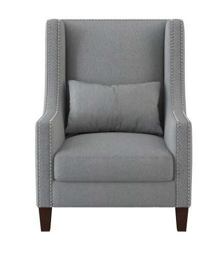 Keller Accent Chair - Light gray