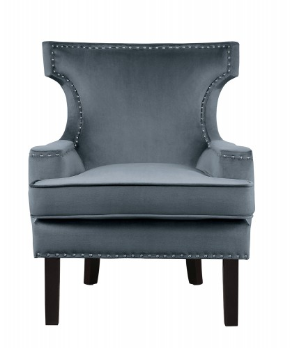 Lapis Accent Chair - Gray