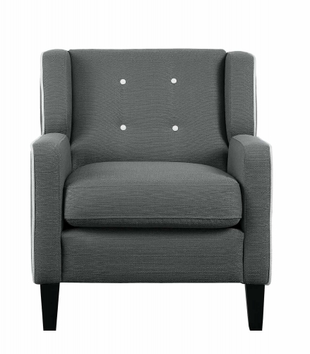 Roweena Accent Chair - Dark Gray
