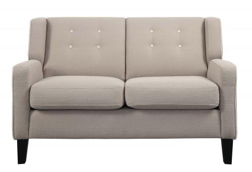 Roweena Love Seat - Beige