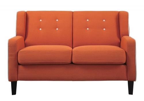 Roweena Love Seat - Orange