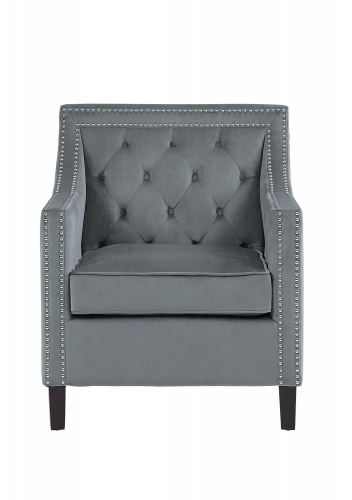 Grazioso Accent Chair - Gray