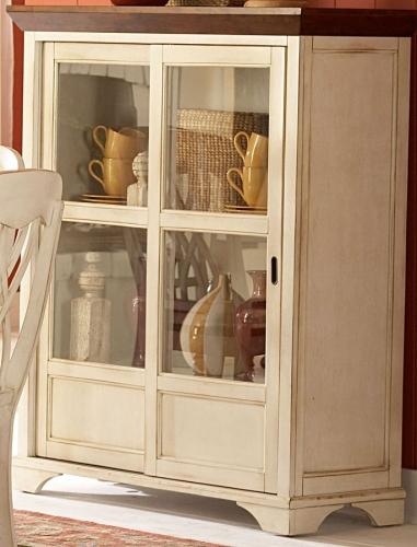 Ohana White Curio Cabinet