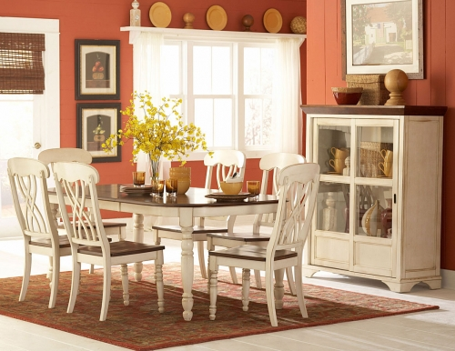 Ohana White Dining Collection