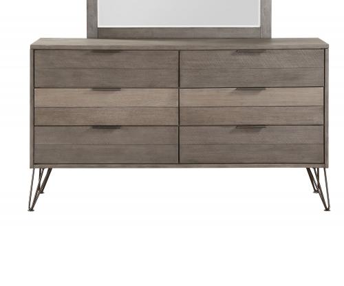 Urbanite Dresser - Brown-Gray