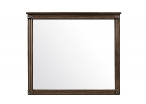 Beaver Creek Mirror - Rustic Brown