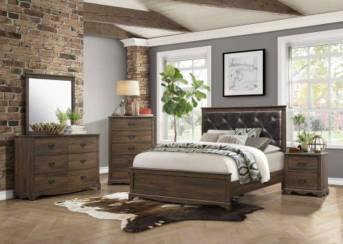 Beaver Creek Bedroom Set - Rustic Brown