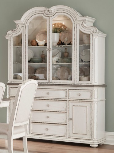 Willowick China Cabinet - Antique White