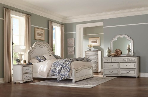 Willowick Bedroom Set - Antique White