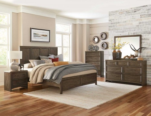 Seldovia Bedroom Set - Brown Gray