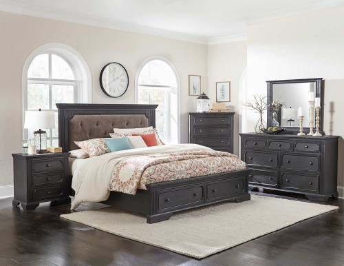 Bolingbrook Bedroom Set - Charcoal