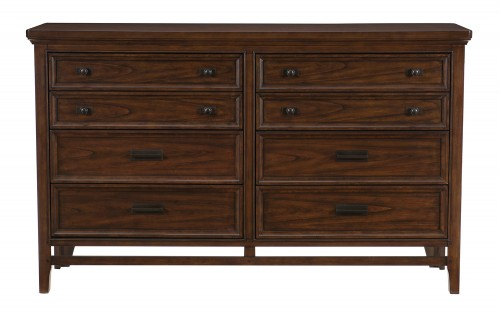 Frazier Park Dresser - Brown Cherry